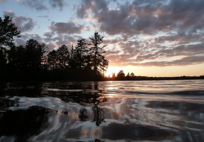 Hayward Lake Sunset