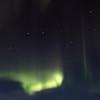 Auroras below the Big Dipper. 8x12 inches