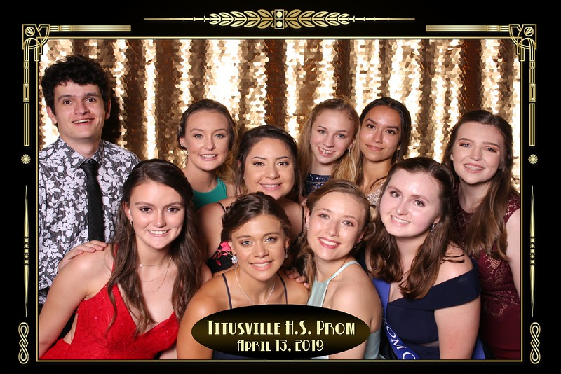Photo Da Vinci Sample Photo at Titusville Prom Large Group