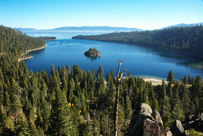 Emerald Bay, California side of Lake Tahoe
