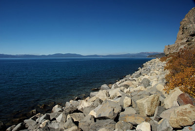 Lake Tahoe at Cave Rock