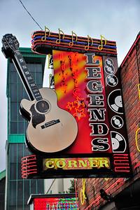 Legends Music Corner sign