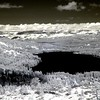 Donner Lake from Overview (IR)