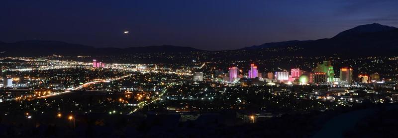 2016-02-13 - Reno, Nevada.  Looking South.