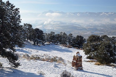 January 16, 2017 - At the overlook on the way to Virginia City.