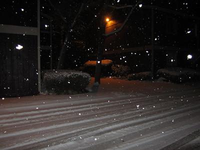 March 2, 2018 - Snowy Night
