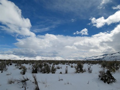 March 17,  2018 - Washoe Valley - Looking South