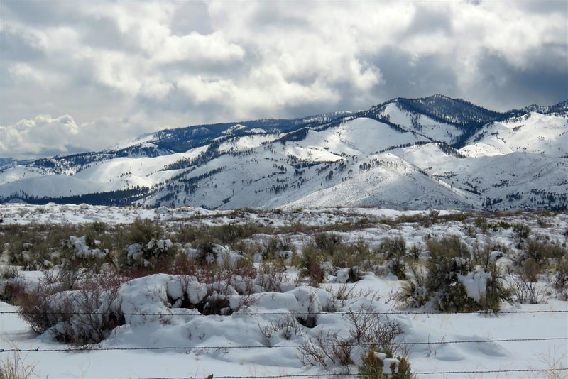 March 17,  2018 - Washoe Valley - The Sierra Mountains