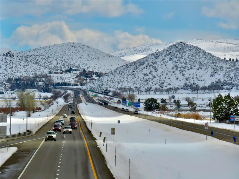 March 17, 2018 - I-480 looking south toward Carson City