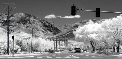 East McCarren in Reno looking toward Hidden Valley