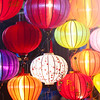 Traditional lanterns in Vietnam.