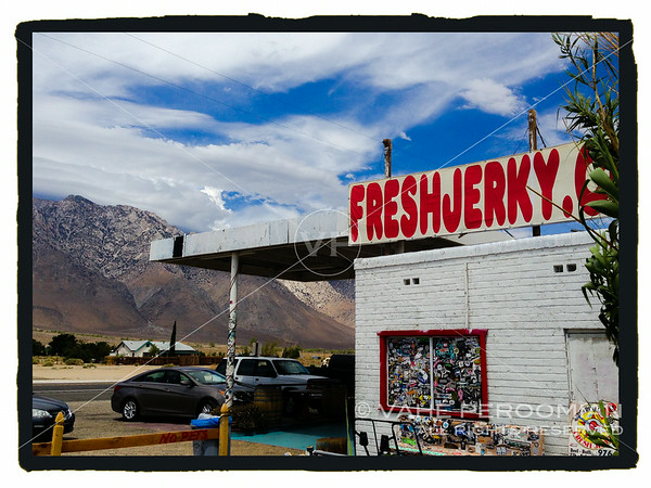 Gus' Beef Jerky, just south of Lone Pine, California