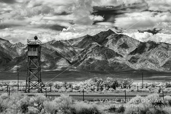 Mt. Williamson and Manzanar, Highway 395, California