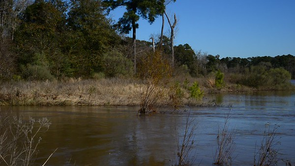 Heavy rains bring extra flows into the lakes along the Spring Creek Nature Trail. These natural areas provide a valuable service through the capture of rainfall runoff.