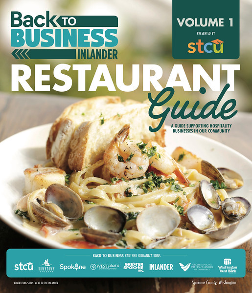 Issue date: Sept. 17, 2020. Art Director: Derek Harrison. Photographer: Young Kwak. Pan Seared Shellfish Fettuccine is photographed at Clinkerdagger in Spokane, Wash., Friday, Sept. 20, 2019. <br /> <br /> Photo used for @theinlander's back to business sponsored content about what restaurants are doing to survive the COVID-19 pandemic.