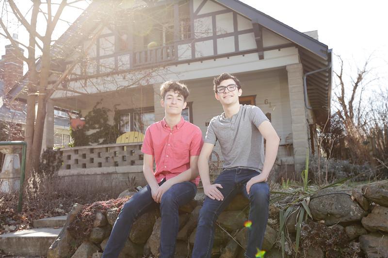 Jack and Sam Morehouse