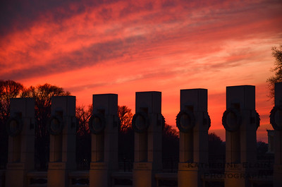 World War II Memorial - Feb. 10, 2014