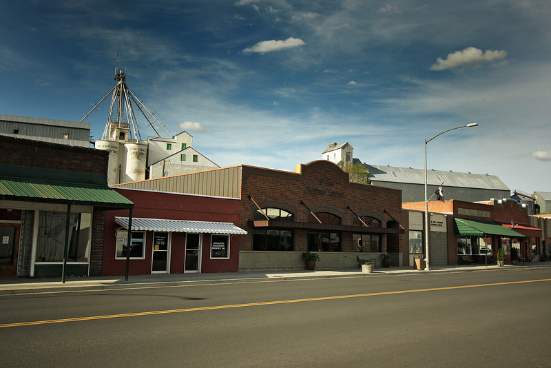 The main street, Hwy. 23, in St. John, Wash. is photographed on Saturday, June 19, 2010. (Young Kwak Special to the Pacific Northwest Inlander)