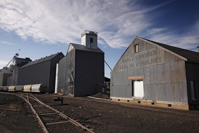 A grainery in St. John, Wash. is photographed on Tuesday, June 29, 2010. (Young Kwak Special to the Pacific Northwest Inlander)