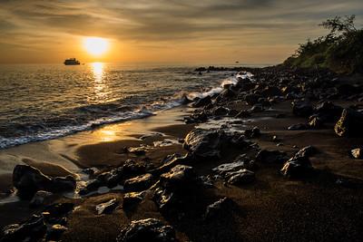 Sunset, Isla Floreana, Galapagos