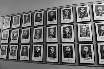 Before they tattooed numbers on inmates at Auschwitz, they photographed them.