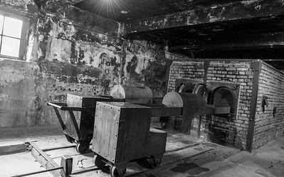 The test furnaces, Auschwitz I.
