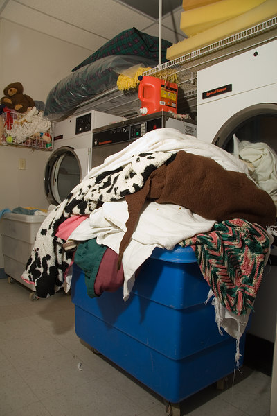 Hundreds of blankets and dog beds must be washed and dried daily. Members often donate supplies to help keep costs under control.