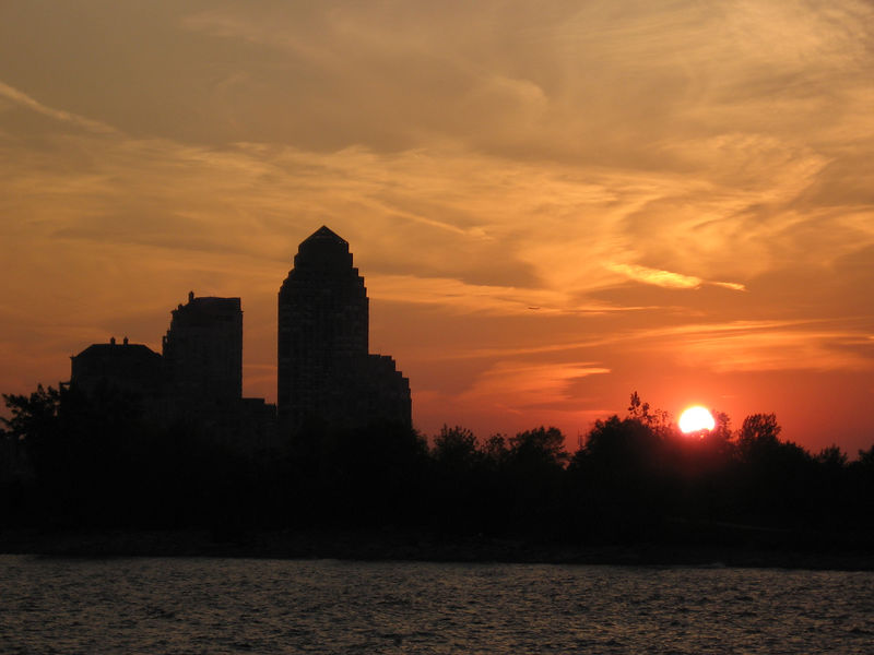 As the sun sets in Humber Bay Park, it's time to head back to Marina Del Rey.