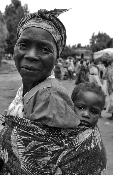 Grandmother. Nadzikhale, Malawi