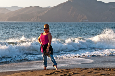 Baker Beach - one of the few people wearing clothes