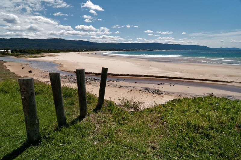 The Bellambi beach