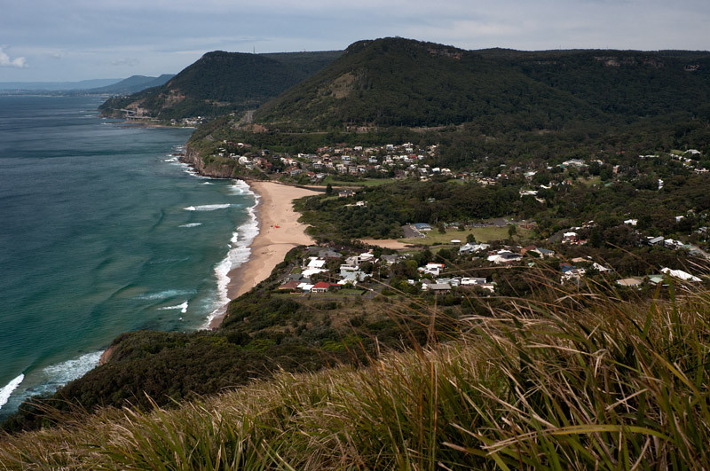 Views from the Bald Hill near Otford, NSW