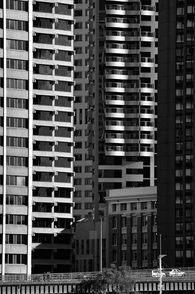 Skyscrapers in the CBD