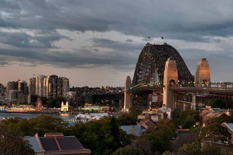 Sydney Observatory Park views...