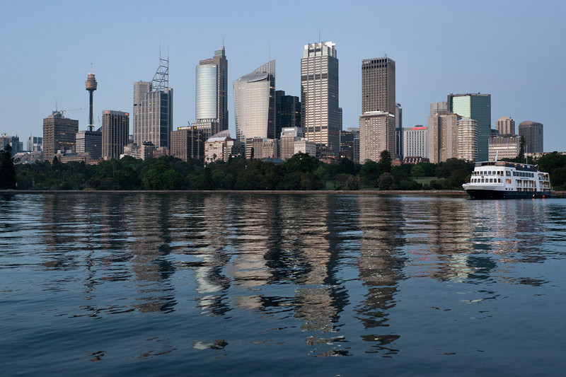 The CBD's skyline
