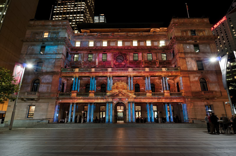 The Customs House as spectacular as theatrical as can be