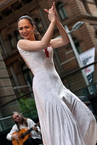 Flamenco in Sydney!!! Ole...