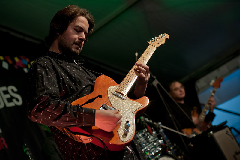 """""""Continental Blues Party"""" throwing some serious blues, funky notes on the air... F-shaped Tele!!"""