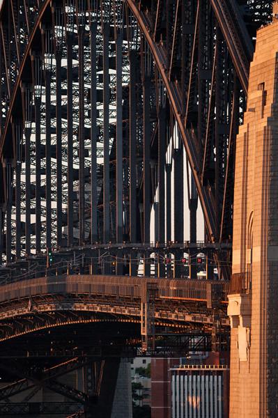 Compressed perspective of the bridge
