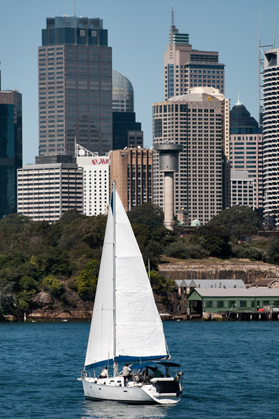 Sydney harbour views