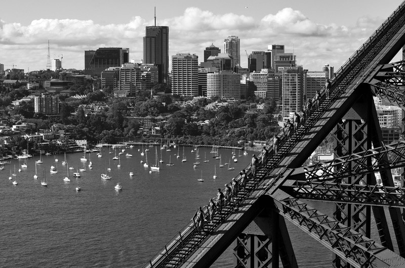Sydney from above (looking towards Waverton)