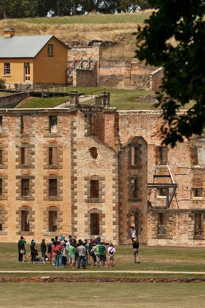 Port Arthur; the most cruel convict's prison in Australia; now a $32 per person worth the visit historical monument...