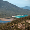 The Wineglass Bay...