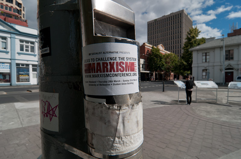 """Marxism; ideas to challenge the system...! Isn't there anything newer and """"fresher"""" to challenge the system with?"""