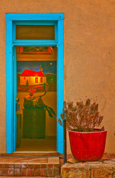 Gallery on Canyon Road, Santa Fe