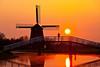 Windmill at Sunrise, Hoorn, Holland