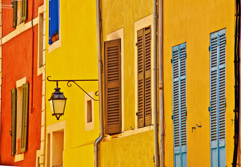 Shutters of Cassis, France