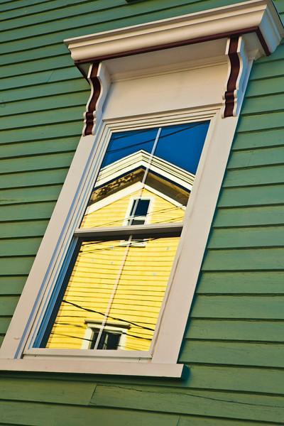 Reflections of Lunenburg, Nova Scotia