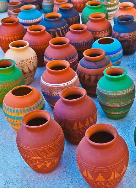 Urns in Santa Fe