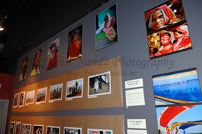 I would like to thank Shishir Kapadia who went with his wife Sophia to Gala Gallery to view the exhibition and kindly shared these photos he took. Thanks very much Shishir